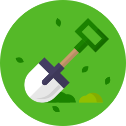 Tuinartikelen icoon