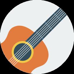 Muziekinstrumenten icoon
