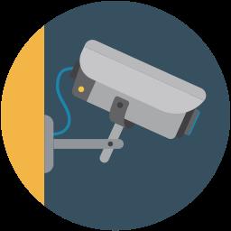 Beveiligingsapparatuur icoon