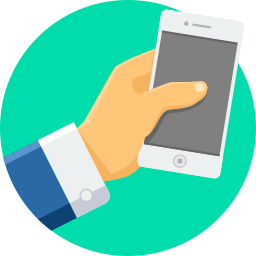 Mobiele telefoon icoon